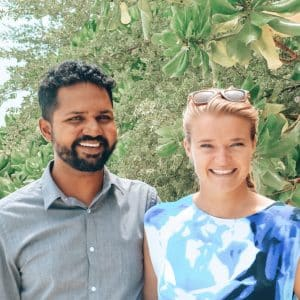 Musannif & Anne, founders and owners of Bliss Dhigurah